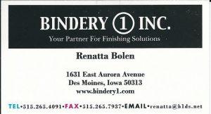 Bindery 1